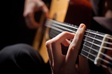 Tony Padula On The Guitar in Kirkland