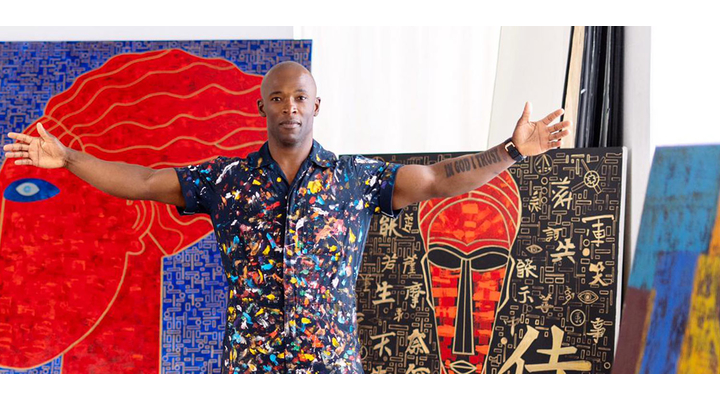 Contemporary Artist Fox Discollins Hall