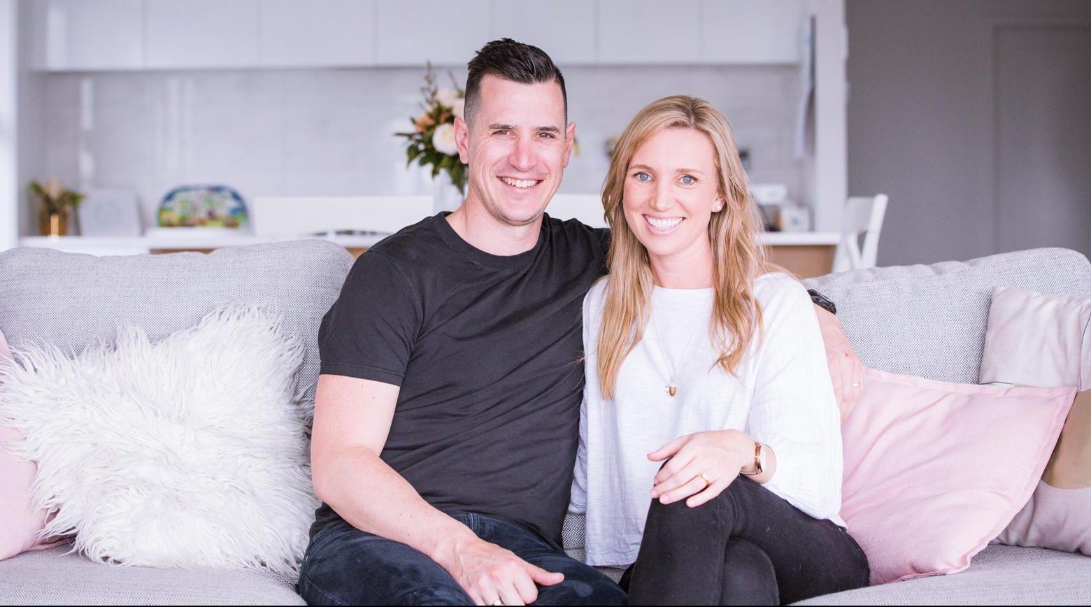 Jono and Kirsty Rowe